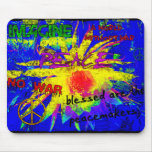 Peace Wall Mouse Pad