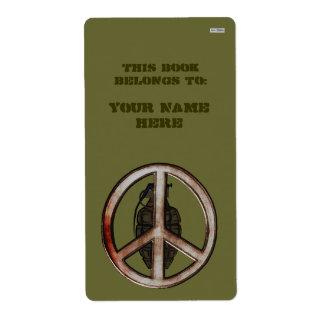 Peace & War Label