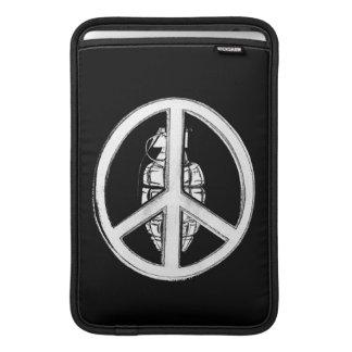 Peace & War (White) MacBook Air Sleeve