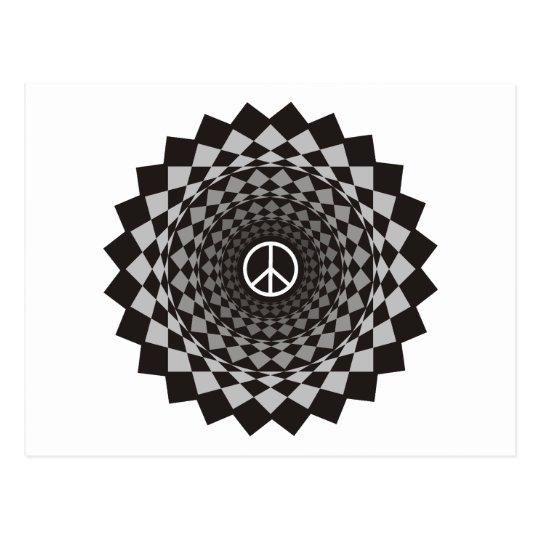 Peace - Weird Design Postcard
