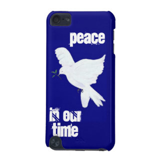 Peace-White Dove on Blue iPod Touch 5G Cover