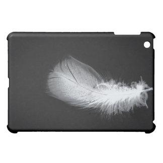 Peace White Feather Beautiful Silent iPad Mini Case