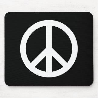 PEACE WHITE MOUSEPAD