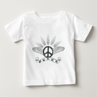 peace wing infant t-shirt