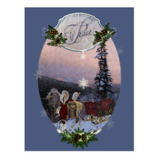 Peace Winter Solstice Post Cards