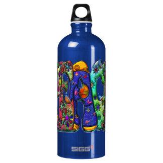 Peace Word Art Birds and Butterflies SIGG Traveler 1.0L Water Bottle