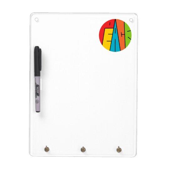 Peace - Word Art Dry Erase Board