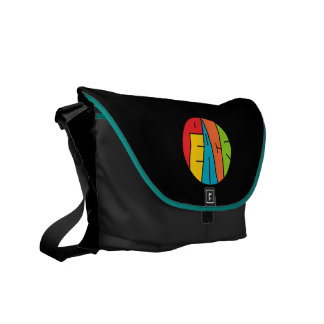 Peace - Word Art Messenger Bag