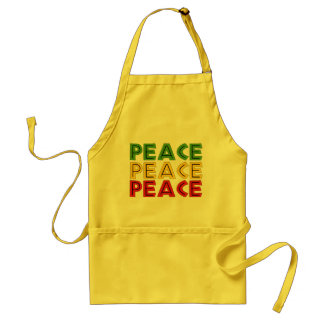 Peace Words Adult Apron