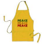 Peace Words Apron