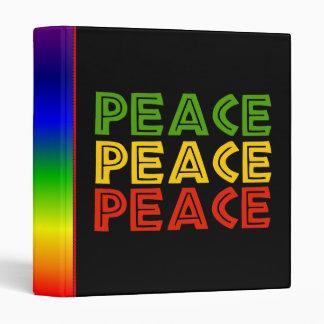 Peace Words Binder