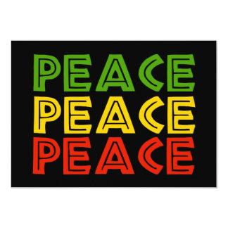 Peace Words Card