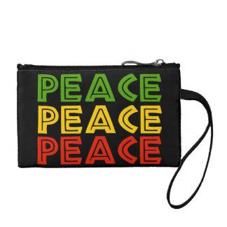 Peace Words Coin Purse