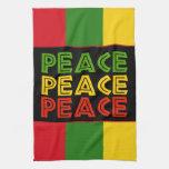 Peace Words Hand Towel