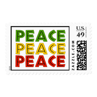 Peace Words Postage