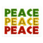 Peace Words Postcards