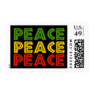 Peace Words Stamp