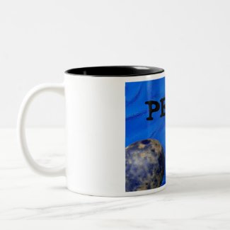 Peace World Globe Coffee Mug