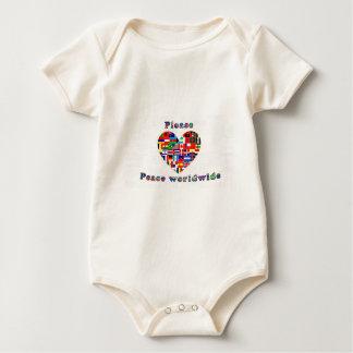 Peace Worldwide Baby Creeper