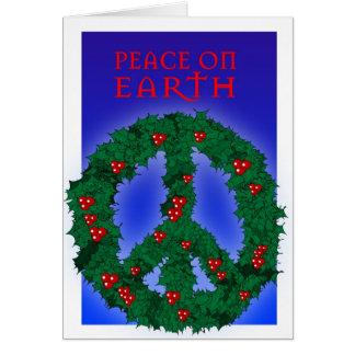 Peace Wreath Card 2