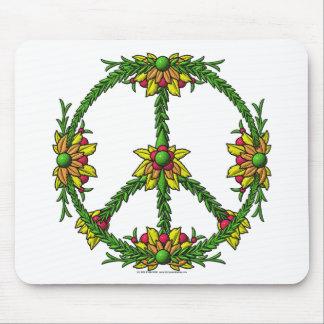 Peace Wreath Mouse Pad