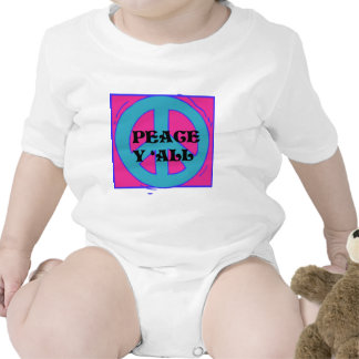 Peace Y All Toddler Shirt