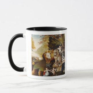 Peaceable Kingdom, c.1834 (oil on canvas) Mug