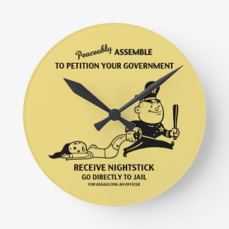 Peaceably Assault Clock