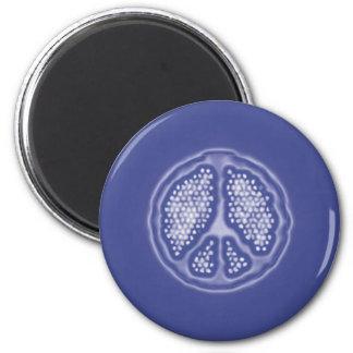 PEACEAZUL 2 INCH ROUND MAGNET