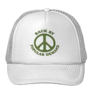 PeaceBackByPopular Demand In Forest Green Trucker Hat