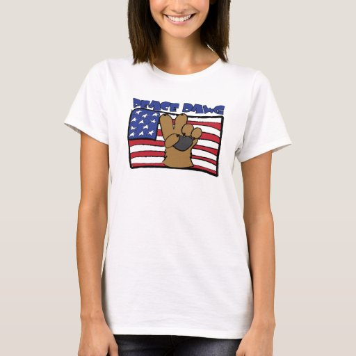 PEACEDAWG-USA-square T-Shirt