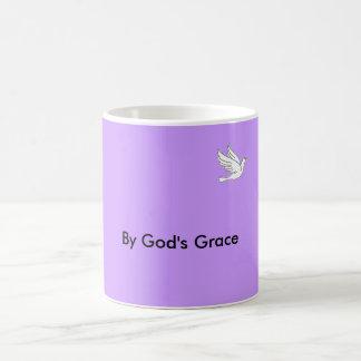 peacedove_2, By God's Grace Coffee Mug
