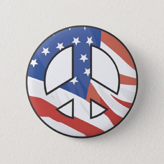 peaceflag button