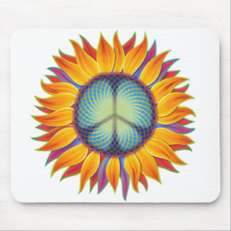peaceflower mouse pads