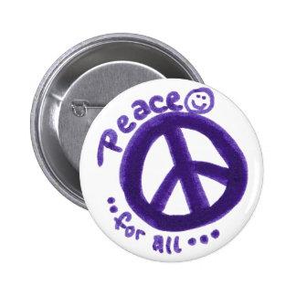 PeaceForAll Pin