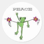 PeaceFroggy, PAZ Pegatina