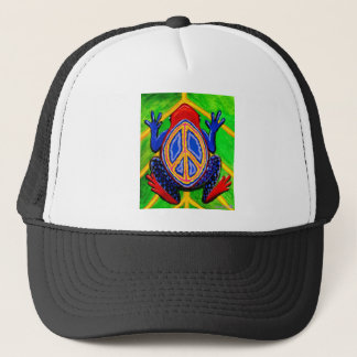 peacefrogz trucker hat