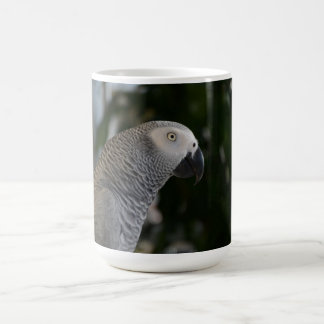 Peaceful African Grey Coffee Mug