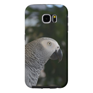 Peaceful African Grey Samsung Galaxy S6 Case
