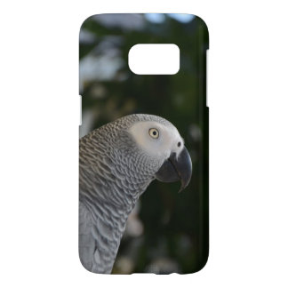 Peaceful African Grey Samsung Galaxy S7 Case