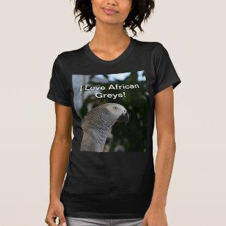 Peaceful African Grey Tshirts