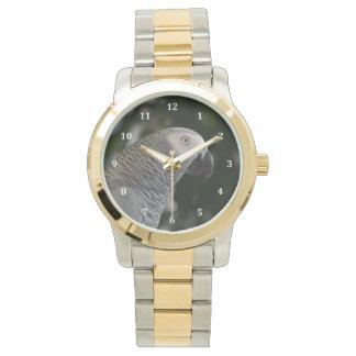 Peaceful African Grey Wrist Watch
