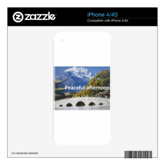 peaceful afternoon skin for iPhone 4S