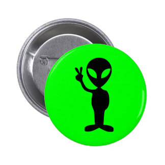 Peaceful Alien Button