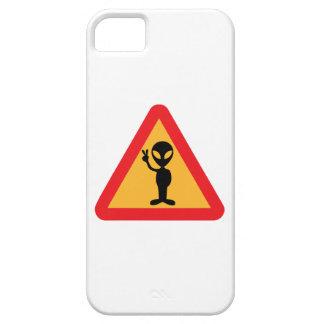 Peaceful Alien Sign iPhone SE/5/5s Case