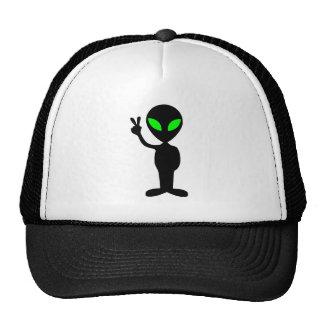 Peaceful Alien Trucker Hat