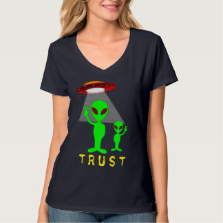 Peaceful Aliens T-Shirt