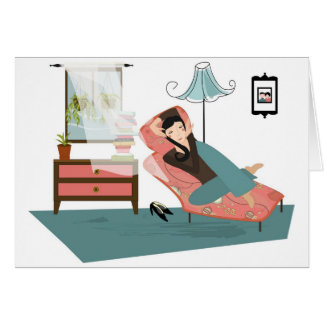 Peaceful and Calm Stationery Note Card