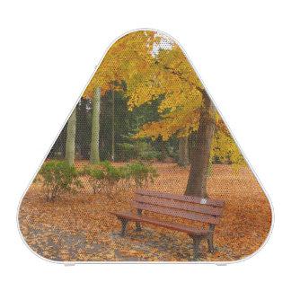 Peaceful and Quiet Autumn in the Park Speaker