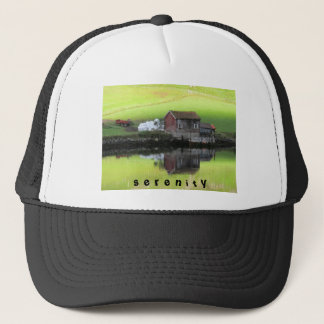 Peaceful and Serene Trucker Hat